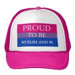 Proud To Be Muslim and Bi Trucker Hat