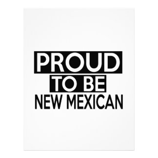 PROUD TO BE NEW MEXICAN LETTERHEAD