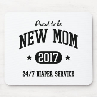 Proud To Be New Mom 2017 Mouse Pad