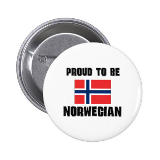Proud To Be NORWEGIAN Button