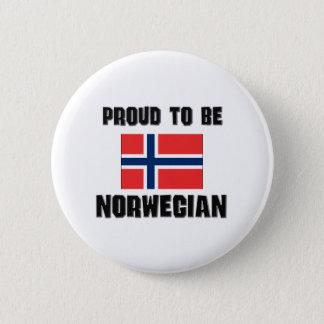 Proud To Be NORWEGIAN Pinback Button