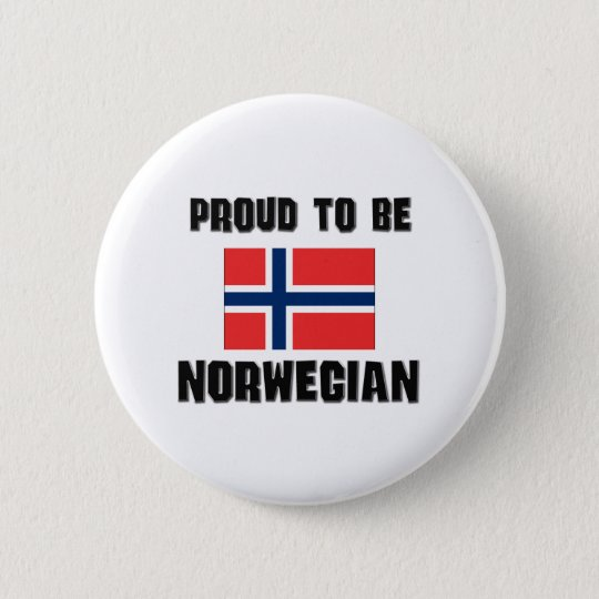 Proud To Be NORWEGIAN Pinback Button
