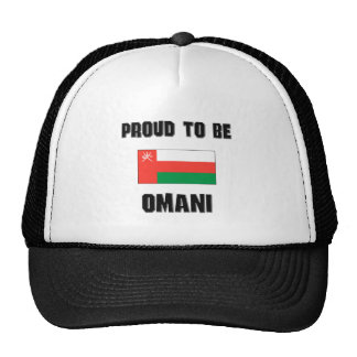 Proud To Be OMANI Hat