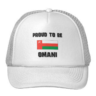 Proud To Be OMANI Hats