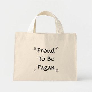 Proud to be Pagan Mini Tote Bag