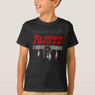 Proud To Be Paiute Kids Dark T-Shirt
