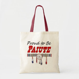 Proud To Be Paiute Tote Bag