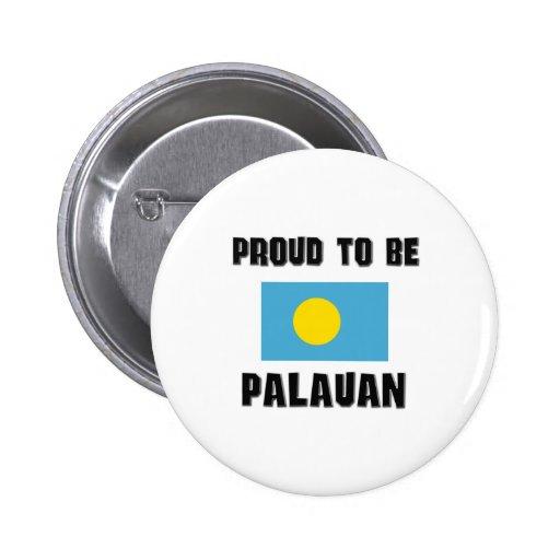 Proud To Be PALAUAN Pinback Button