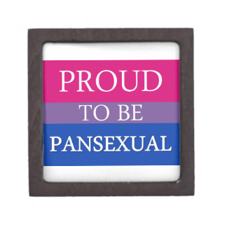 Proud to Be Pansexual Jewelry Box