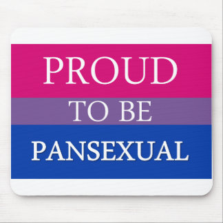 Proud to Be Pansexual Mouse Pad