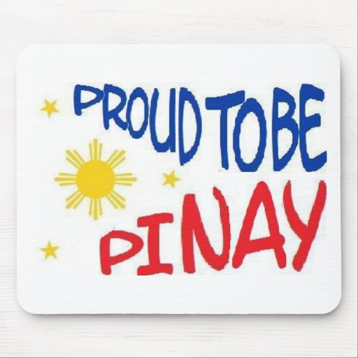 Proud to be Pinay Mouse Mats