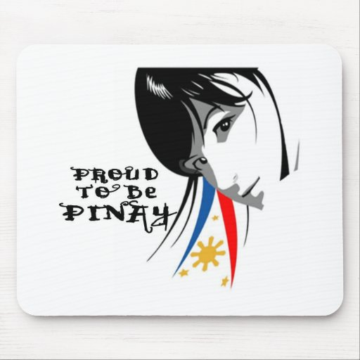 proud to be pinay mousepad..