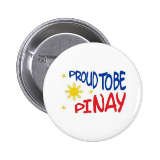Proud to be Pinay Pinback Button