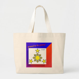 proud to be pinoy tote bag