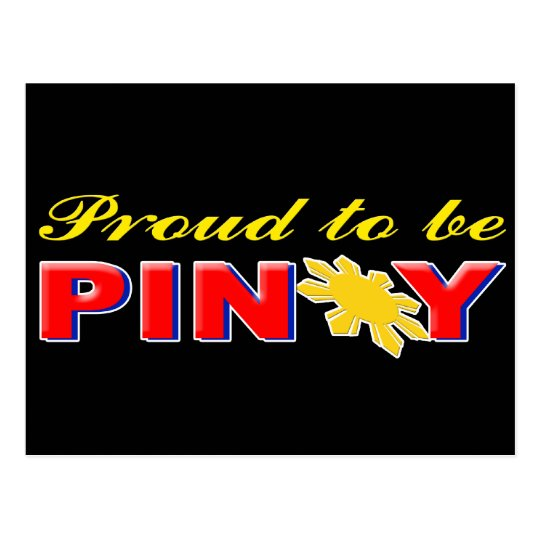 Proud to be Pinoy Postcard