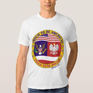 Proud to be Polish American T-shirt