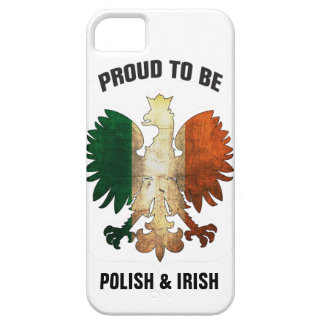 Proud to be Polish and Irish iPhone 5 Covers