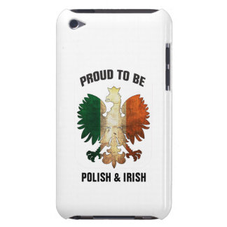 Proud to be Polish and Irish iPod Touch Case-Mate Case