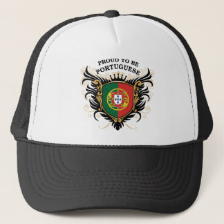 Proud to be Portuguese Trucker Hat