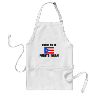 Proud To Be PUERTO RICAN Aprons