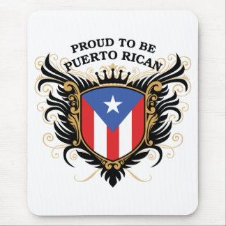 Proud to be Puerto Rican Mouse Pad
