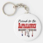 Proud To Be Rappahannock Keychain Basic Round Button Keychain