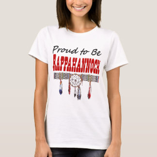 Proud To Be Rappahannock Ladies Fitted T-Shirt