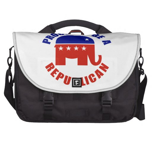 Proud to be Republican Laptop Bags