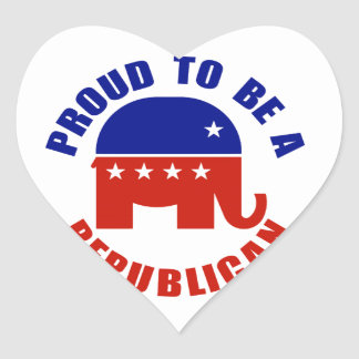 Proud to be Republican Stickers