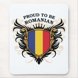 Proud to be Romanian Mousepad