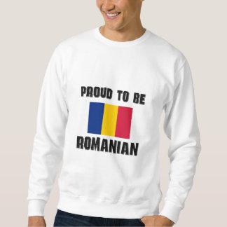 Proud To Be ROMANIAN Pullover Sweatshirt