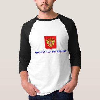 proud to be Russian 2 T-Shirt