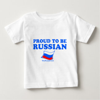 PROUD to be Russian Baby T-Shirt