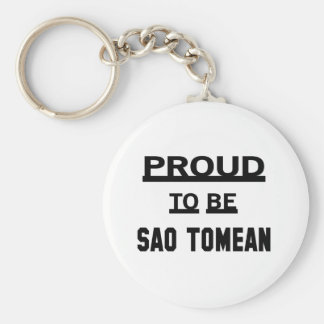 Proud to be Sao Tomean Keychain