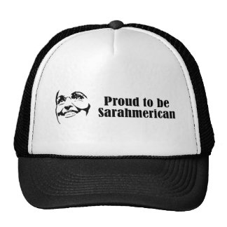 Proud to be Sarahmerican Trucker Hat