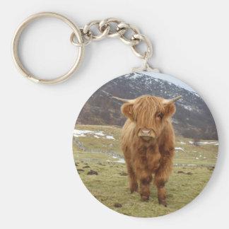 Proud to be Scottish! Basic Round Button Keychain