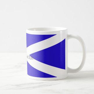 proud to be scottish classic white coffee mug