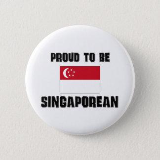 Proud To Be SINGAPOREAN Button
