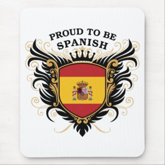 Proud to be Spanish Mouse Pad