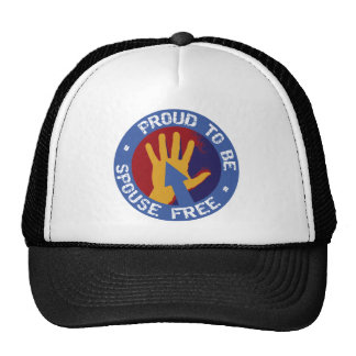 Proud to be Spouse Free Trucker Hat