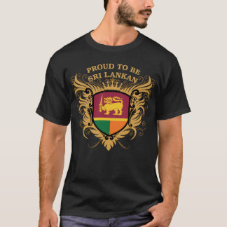 Proud to be Sri Lankan T-Shirt