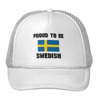 Proud To Be SWEDISH Mesh Hat