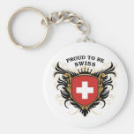Proud to be Swiss Key Chains