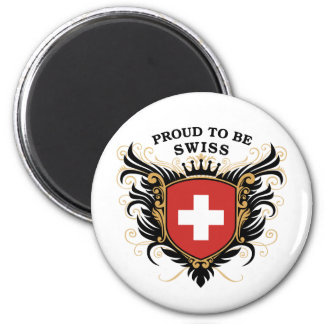 Proud to be Swiss Magnets