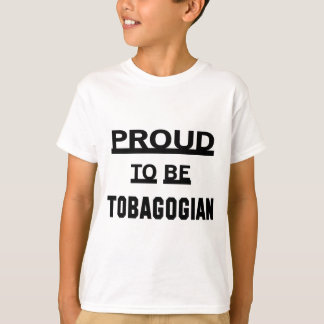 Proud to be Tobagonian T-Shirt