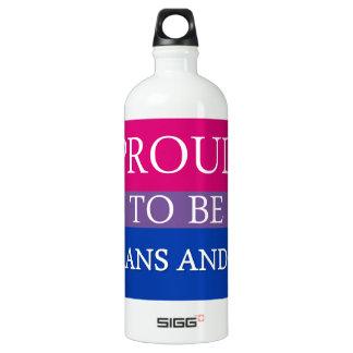 Proud to be Trans and Bi SIGG Traveler 1.0L Water Bottle