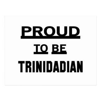 Proud to be Trinidadian Postcard