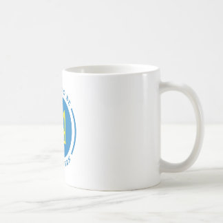 Proud to be Ukrainian sign with Coat of Arms Classic White Coffee Mug