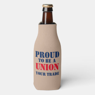 PROUD TO BE UNION BOTTLE COOLER