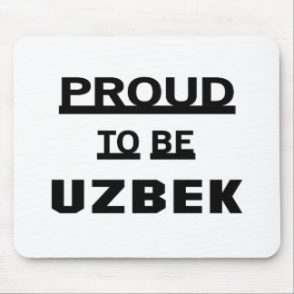 Proud to be Uzbek Mouse Pad